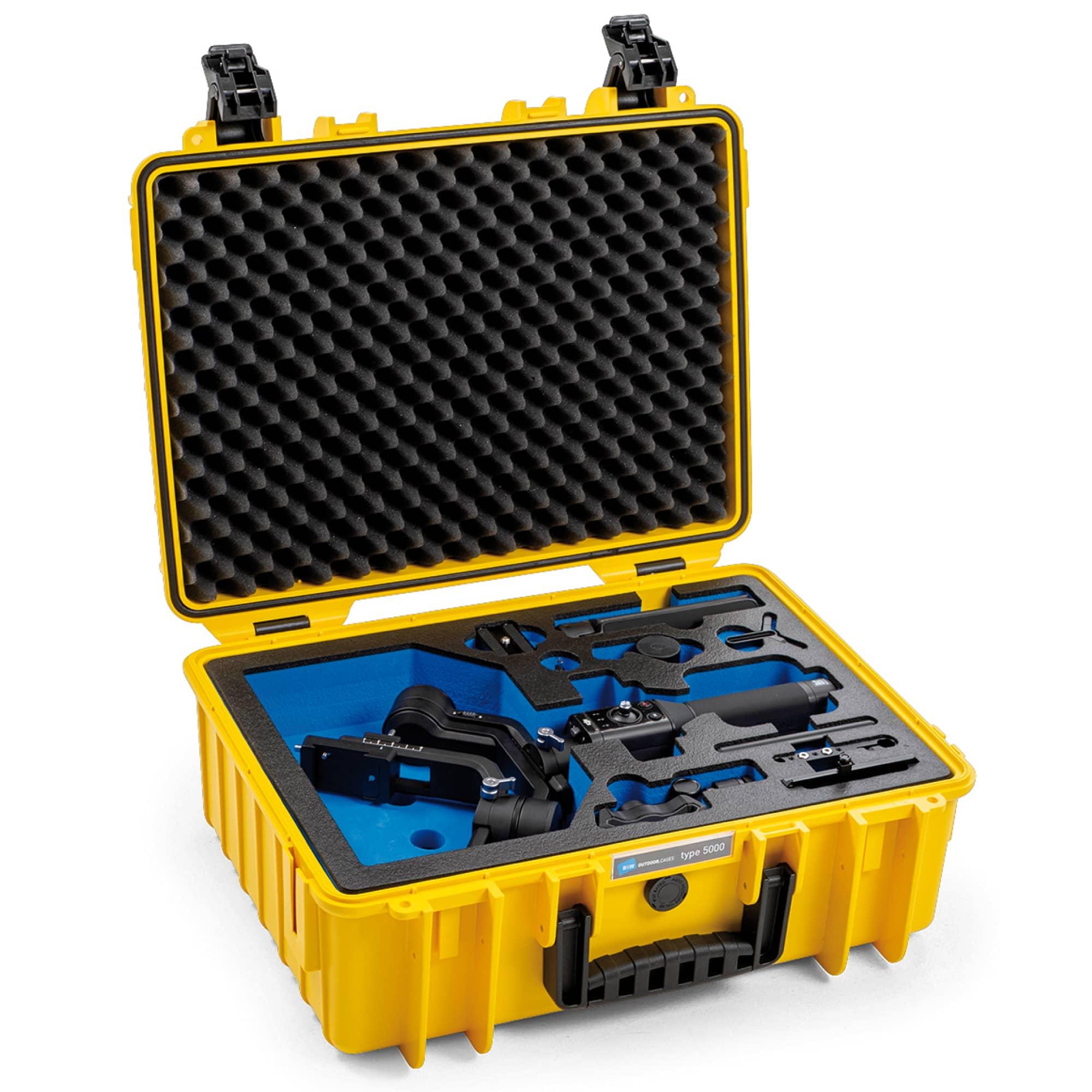 B&W Special Case Typ 5000 mit 3D-Schaum für DJI Ronin SC Pro Combo