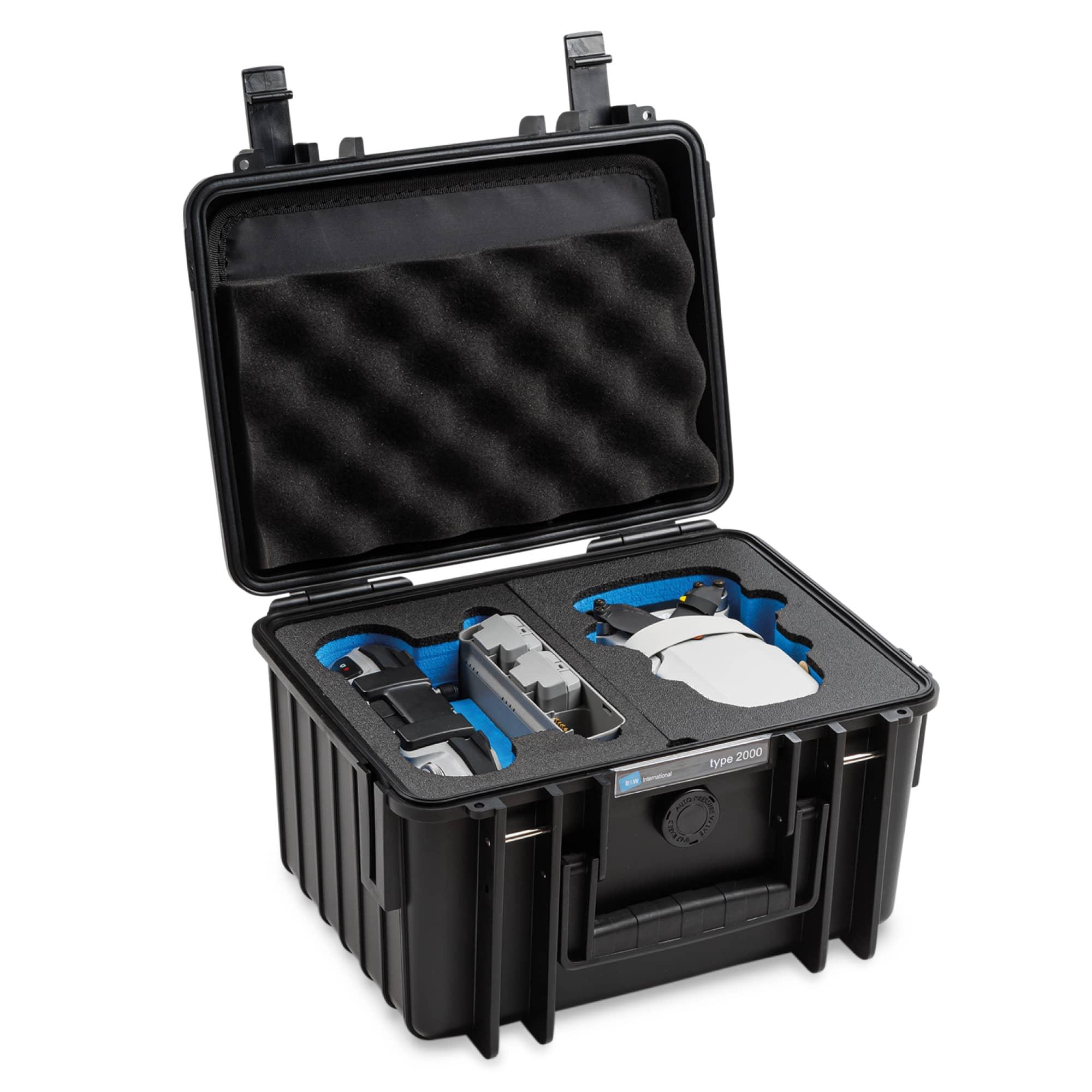 B&W Special Case Typ 2000 with 3D foam for DJI Mini 2