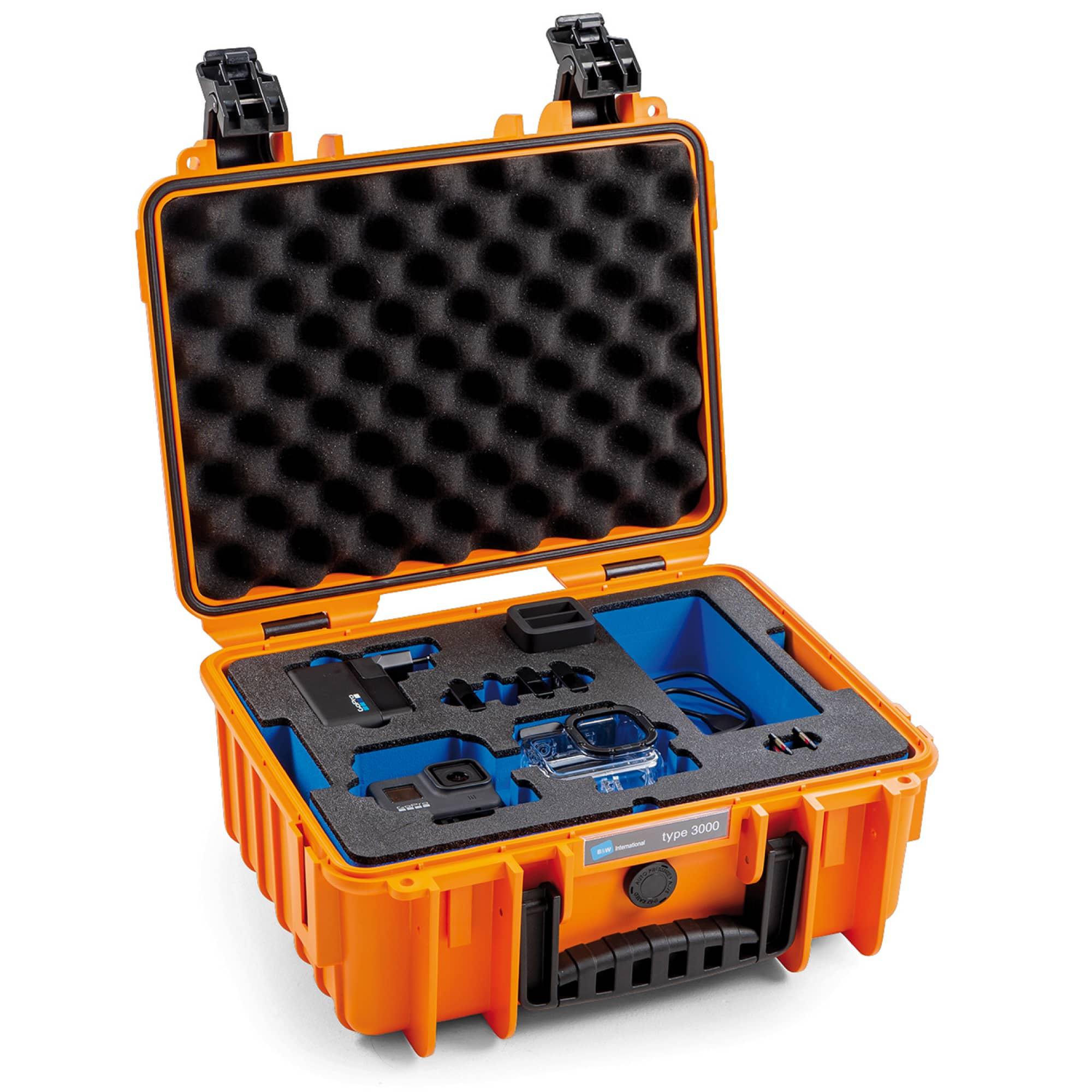 B&W Special Case Typ 3000 mit 3D-Schaum für GoPro 8
