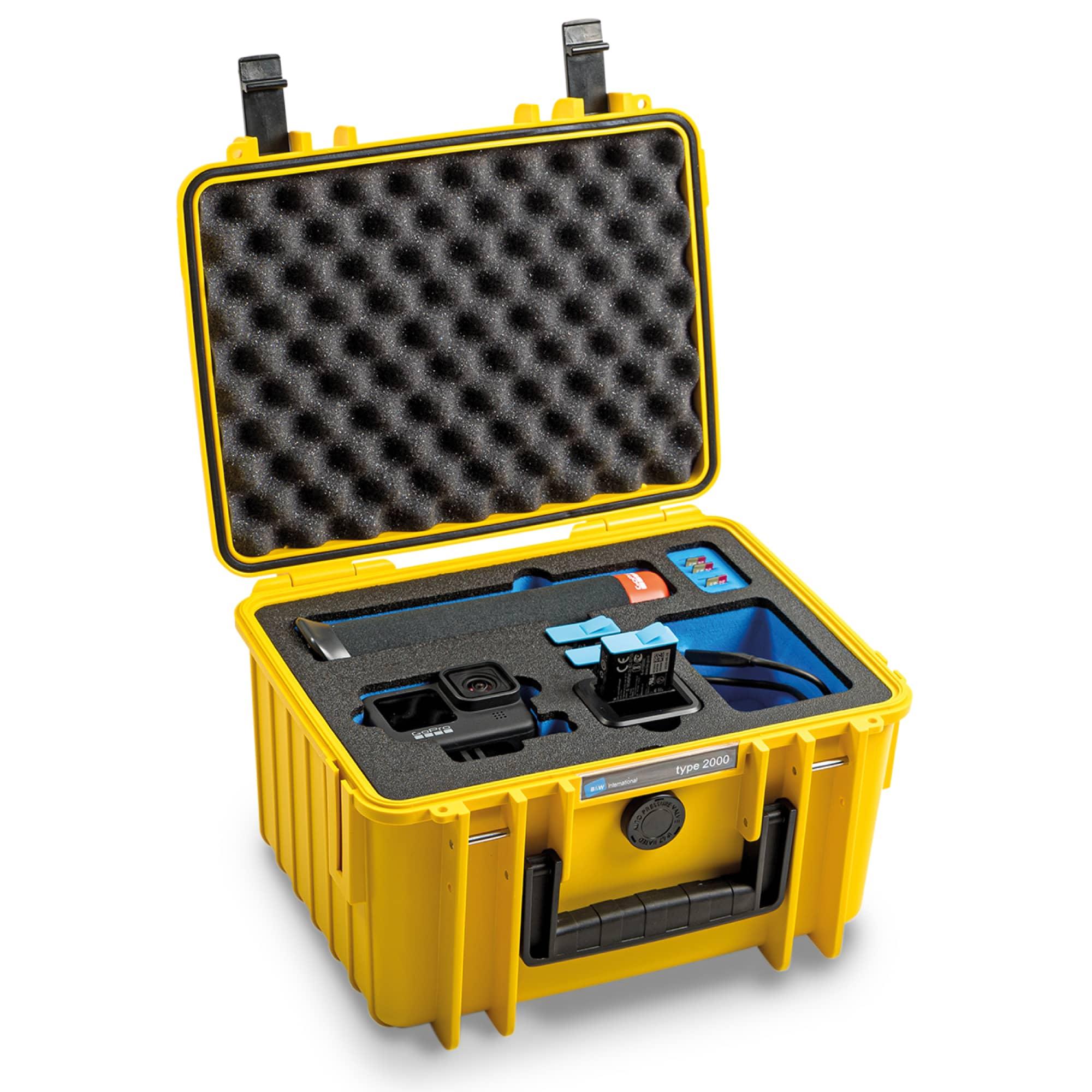 B&W Special Case Typ 2000 mit 3D-Schaum für GoPro 9