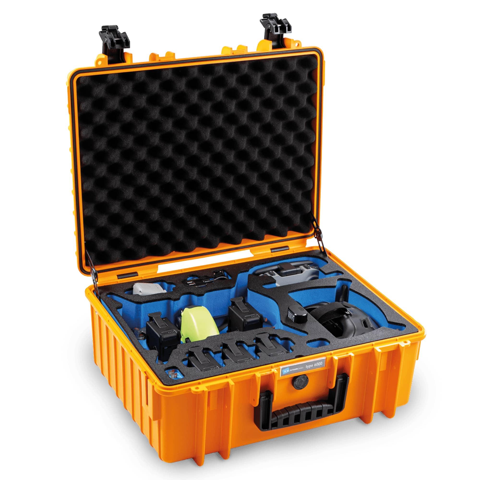 B&W Special Case Typ 6000 mit 3D-Schaum für DJI FPV Combo | LIMITED EDITION