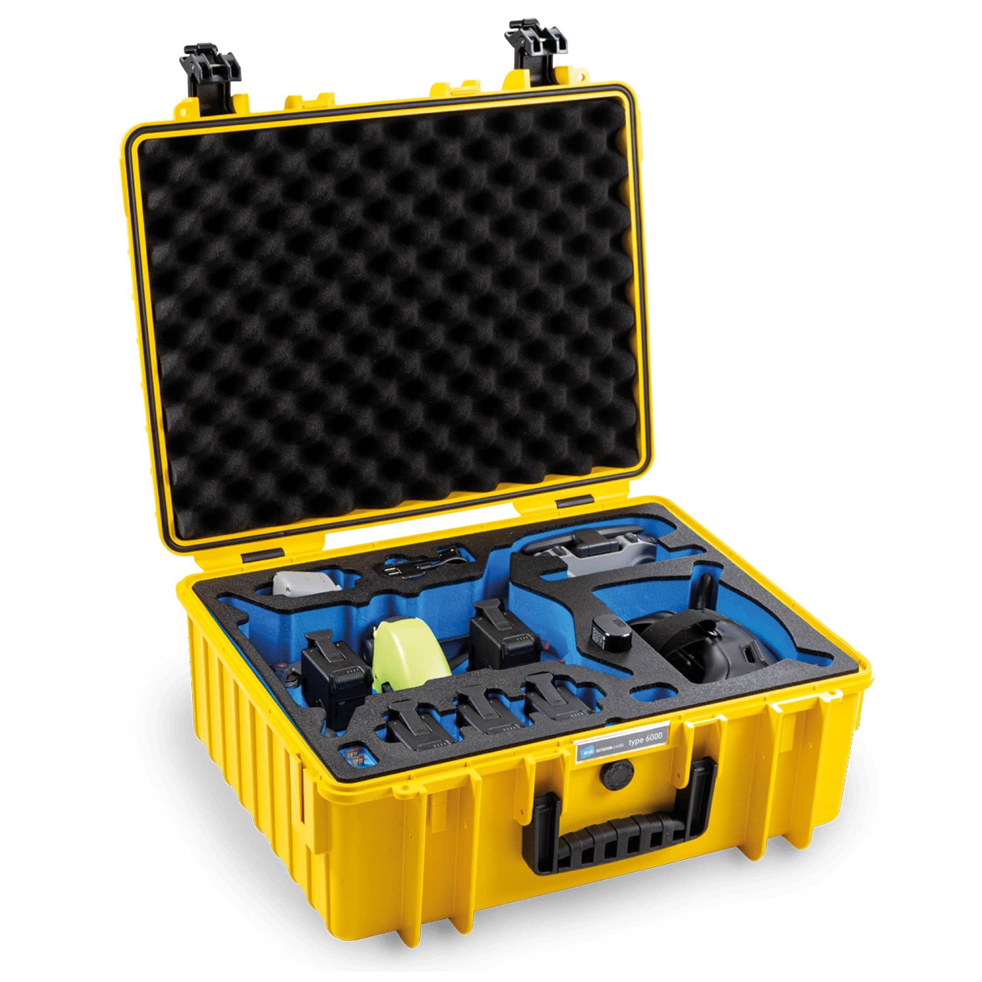 B&W Special Case Typ 6000 mit 3D-Schaum für DJI FPV Combo