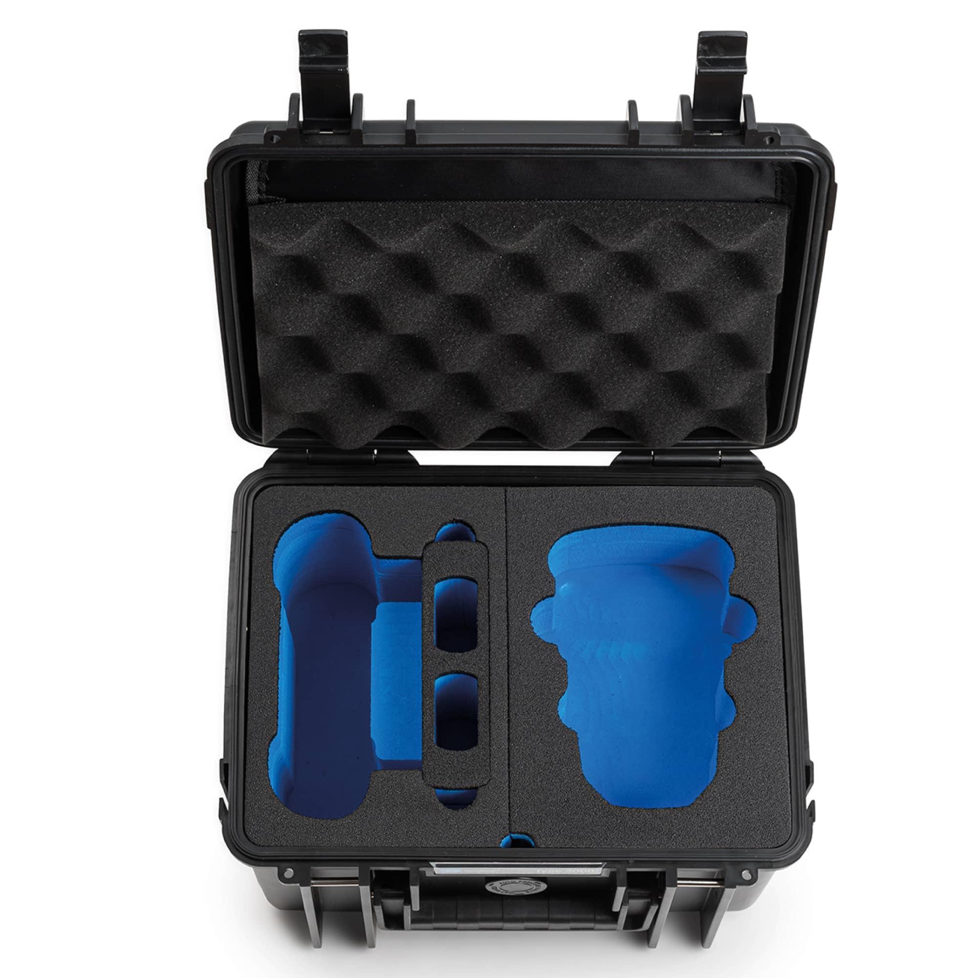 B&W Special Case Typ 2000 mit 3D-Schaum für DJI Mini 2