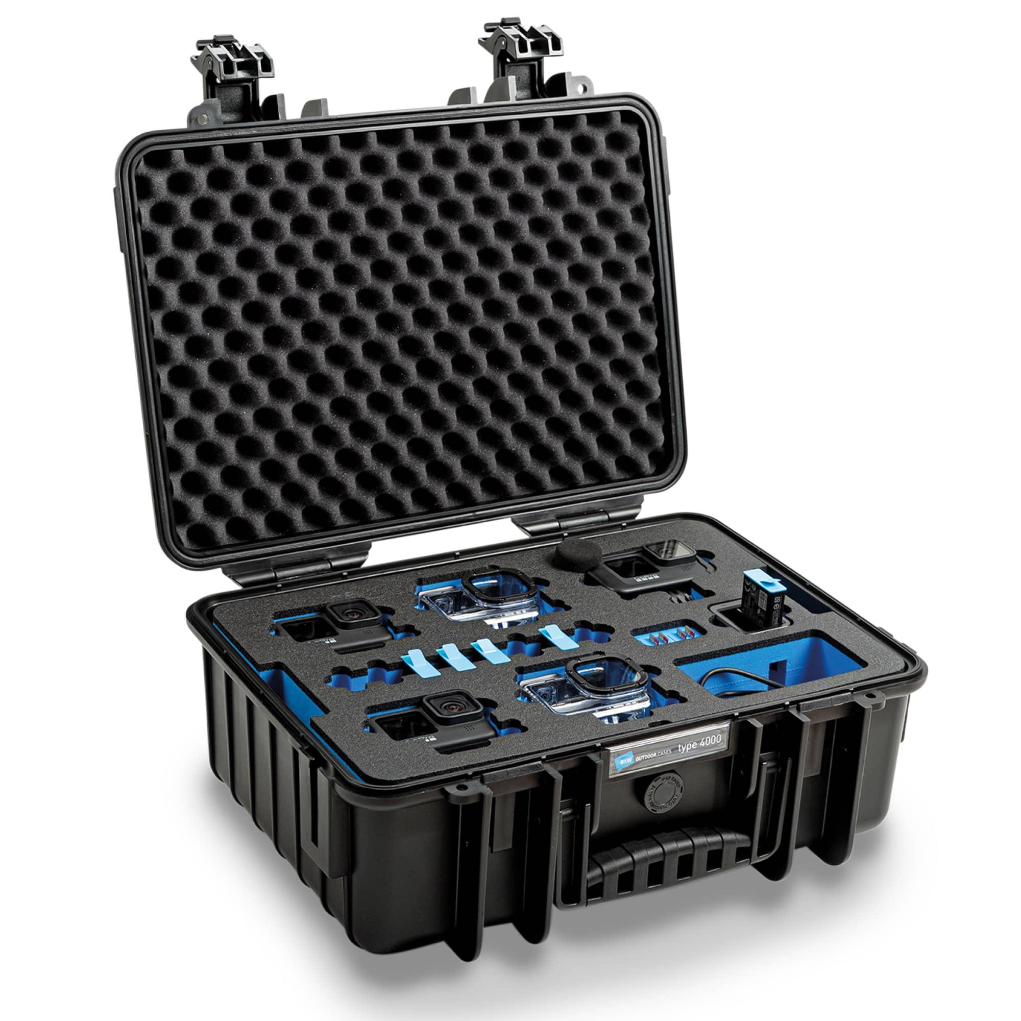B&W Special Case Typ 4000 mit 3D-Schaum für GoPro 9