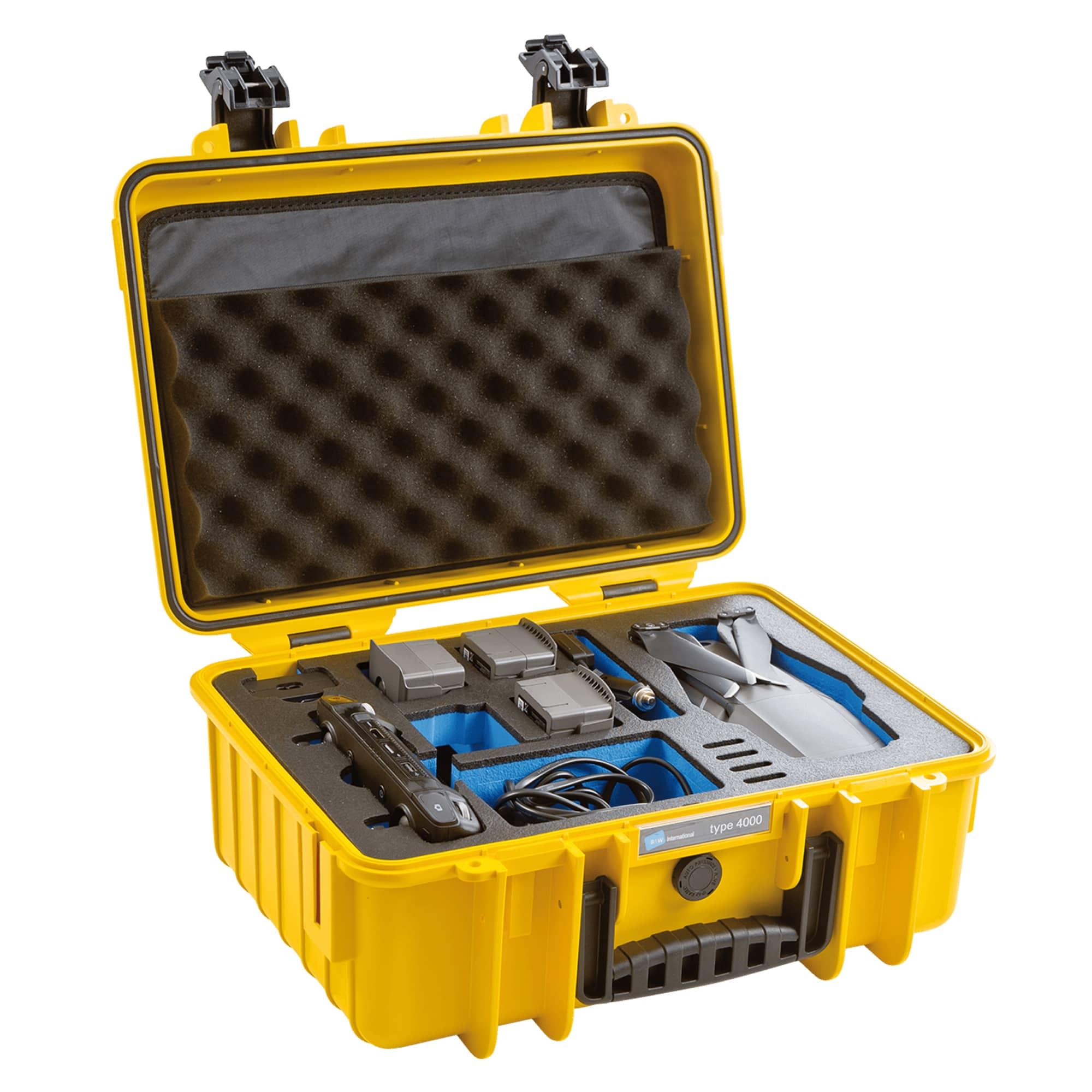 B&W Special Case Typ 4000 mit 3D-Schaum für DJI Mavic 2 und Smart Controller