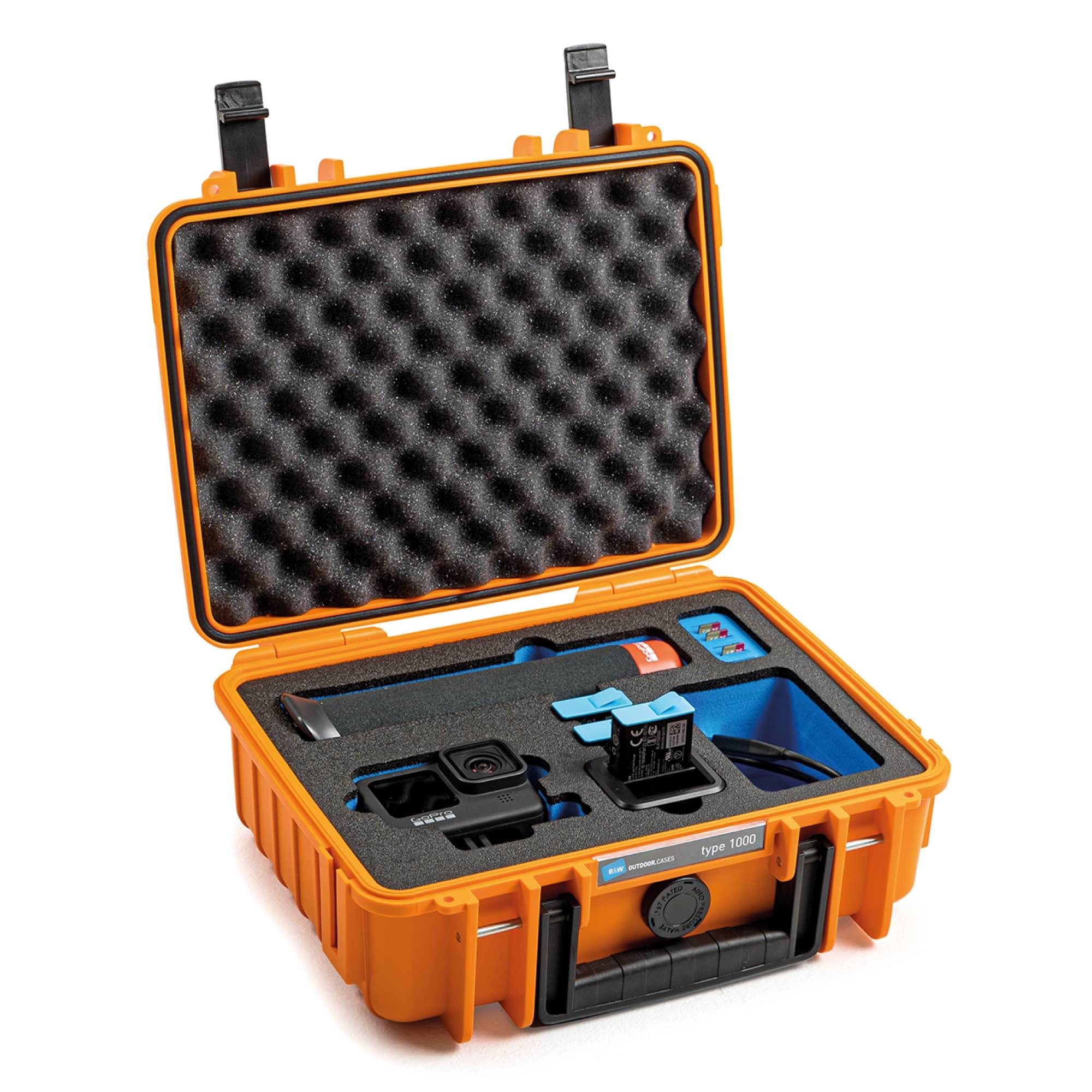B&W Special Case Typ 1000 mit 3D-Schaum für GoPro 9