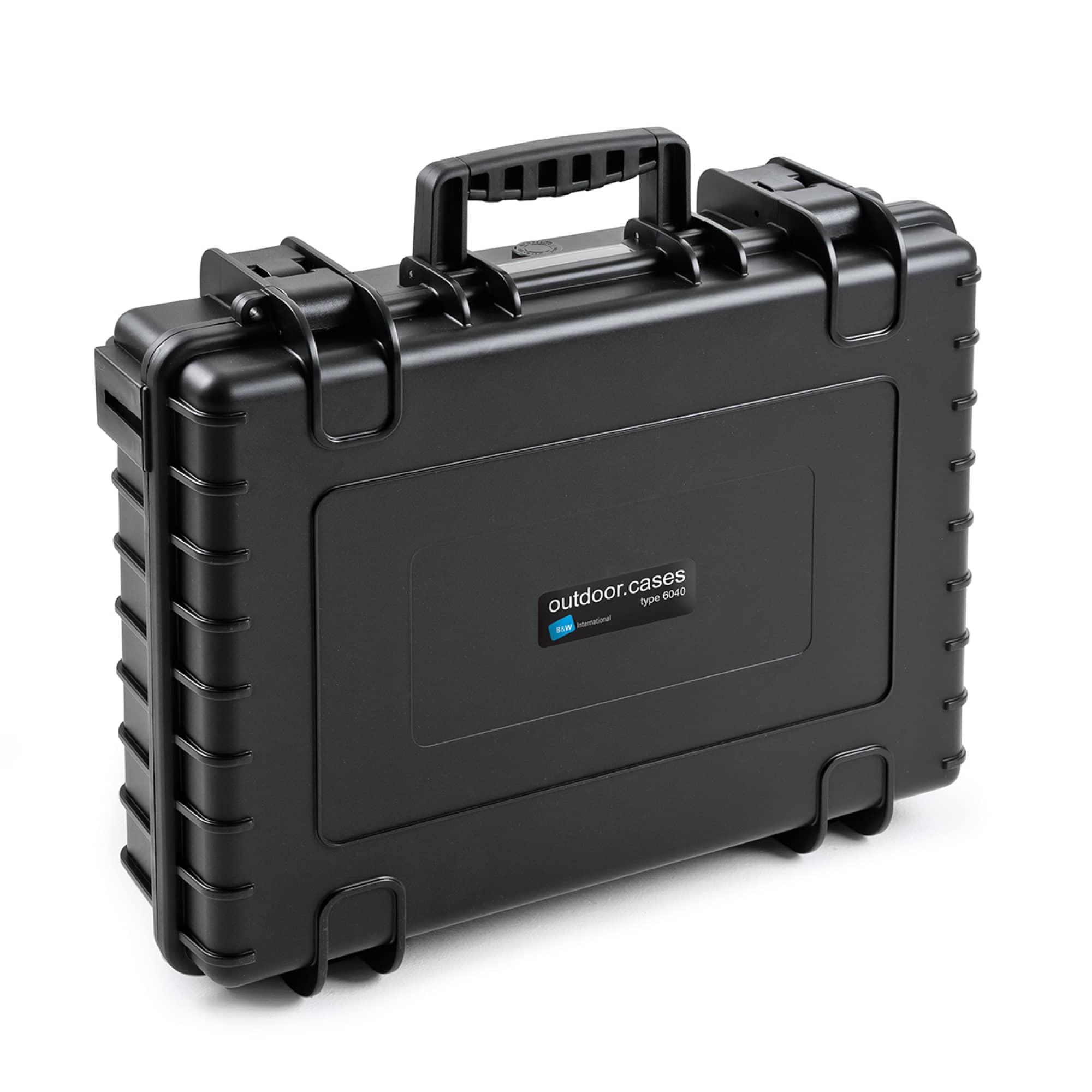 B&W Outdoor Case Typ 6040 mit Würfelschaum (SI)